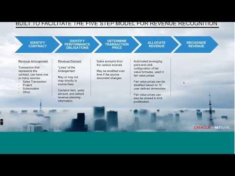 Rev Rec Series 4 NetSuite Advanced Revenue Management ...