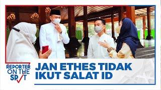Jan Ethes Tak Terlihat saat Salat Id di Balai Kota Solo, Gibran Rakabuming Berikan Penjelasan