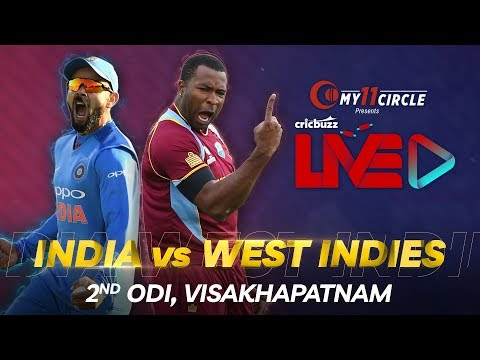 Cricbuzz LIVE: India v West Indies, 2nd ODI, Pre-match show