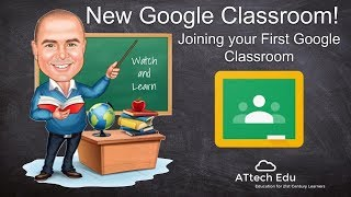 NEW Google Classroom - Joining your First Google Classroom - Class Code - Invite your Students
