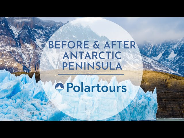 Before and After Antarctic Peninsula