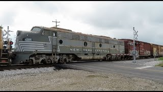 {HD} RARE NYC E9-A Unit On CSX Q409! - Railfanning The RF&P 6-5-17