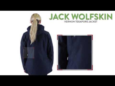 Jack wolfskin vernon jacke damen