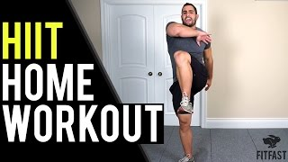 15 Minute HIIT Workout For Fat Loss | Home Workout Without Equipment by BarbarianBody