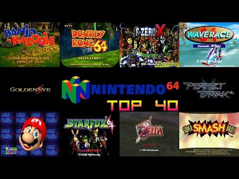 Nintendo 64/N64 Top 40 Games