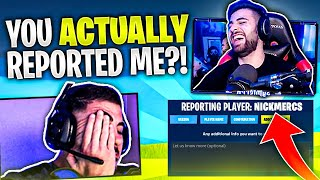 I Have Aimbot! SypherPK REPORTS ME?! (Fortnite Chapter 2)