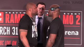 Bellator 175 fighters face off for media in Chicago