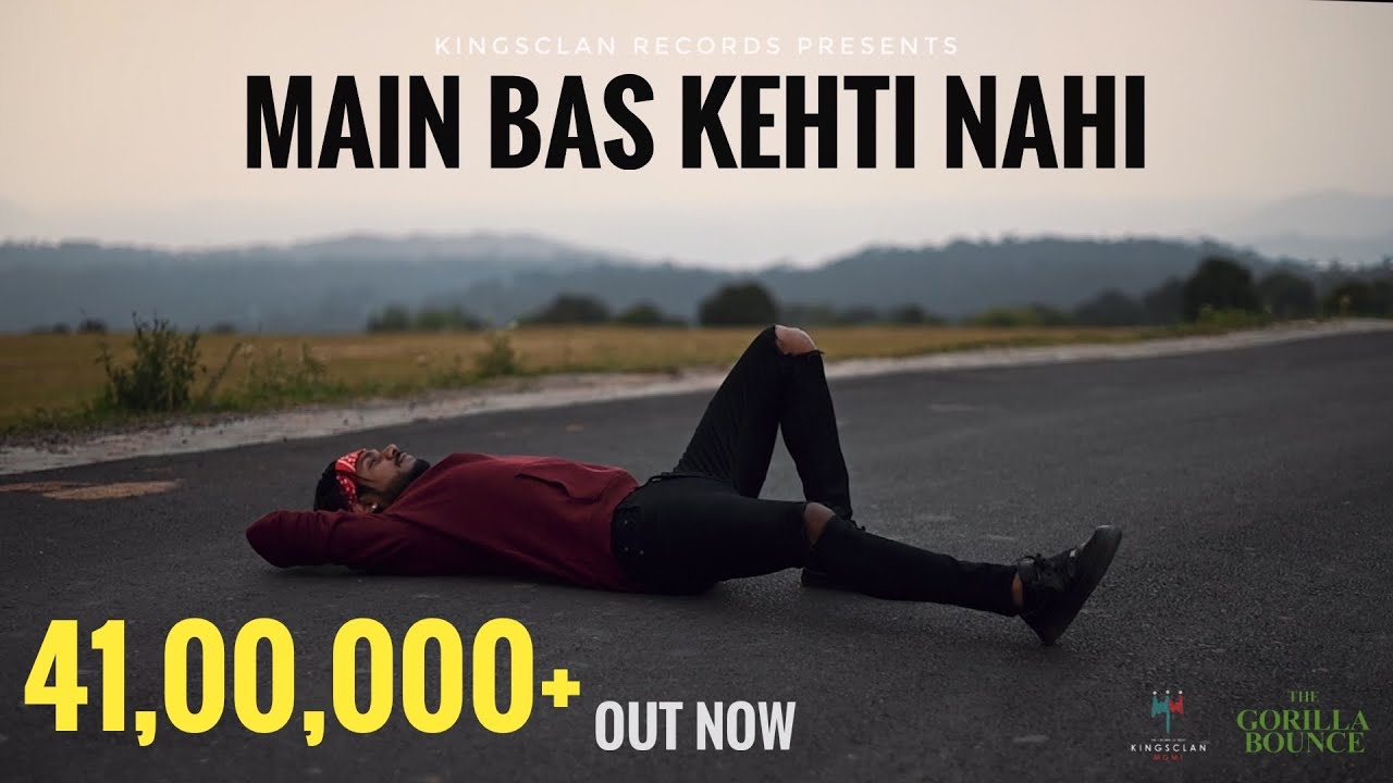 King - Main Bas Kehti Nahi | The Gorilla Bounce | Prod by. Section 8 | Latest Hit Songs 2021| King Lyrics