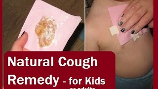 Natural Cough Remedy for kids (and adults)  - Mami & Papi