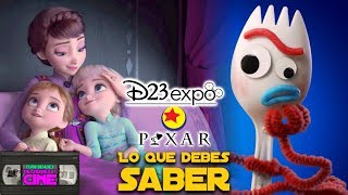 Todo Pixar Y Disney Animation En Expo D23 -Frozen 2, Soul, Onward