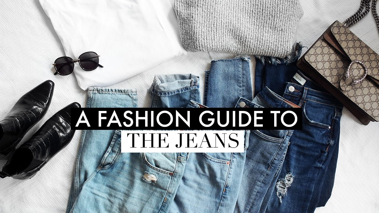 A Fashion Guide To Jeans | How To Style The Boyfriend, Skinny, Mom & Frayed Lookbook