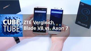 ZTE Blade V8 vs Axon 7 Vergleich (deutsch HD)