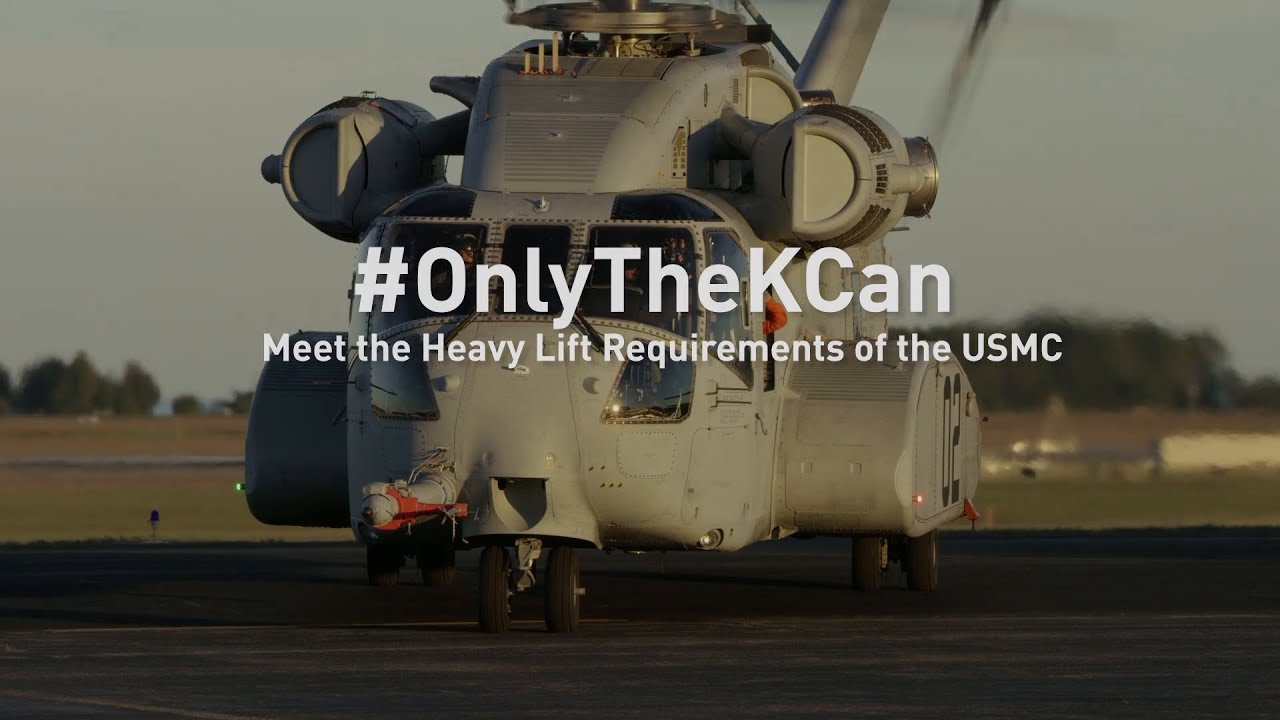 Sikorsky CH-53K In Action Video