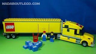 LEGO City Trucks,Lorries,Vans Movie.