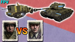 COH2 FPV The best way to play as USF vs Osttruppen?