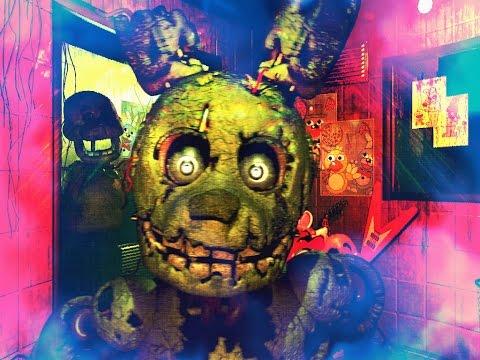 Five Nights at Freddy`s 3   Пять ночей с Фредди 3 - Часть 1: Он вернулся, но не один!