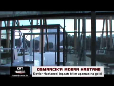 Osmancık Devlet Hastanesi İnşaatı Bitim Aşamasına Geldi