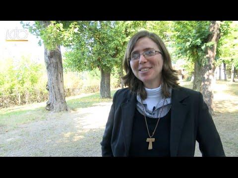 Carmelia, laïque consacrée de la Communauté brésilienne Palavra Viva