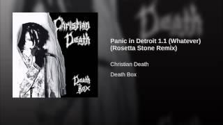 Panic in Detroit 1.1 (Whatever) (Rosetta Stone Remix)