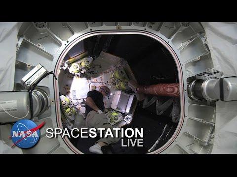 BEAM ingress with astronaut Jeff Williams