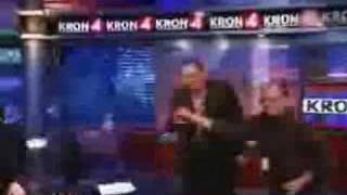 The KRON 4 Fire Drill with Gary Radnich