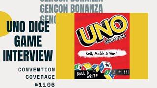 Gencon Bonanaza 2019: UNO Dice Game Interview