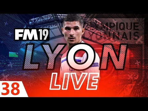 Football Manager 2019 | Lyon Live #38: Squad Rotation #FM19