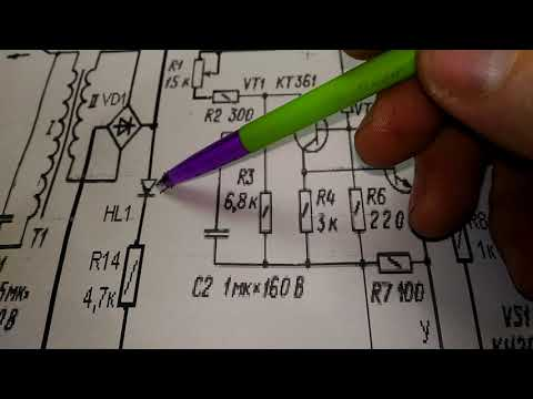 Проверка тиристора, древняя схема и подключение разных тиристоров.