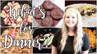 WHAT'S FOR DINNER? | EASY FAMILY MEAL IDEAS