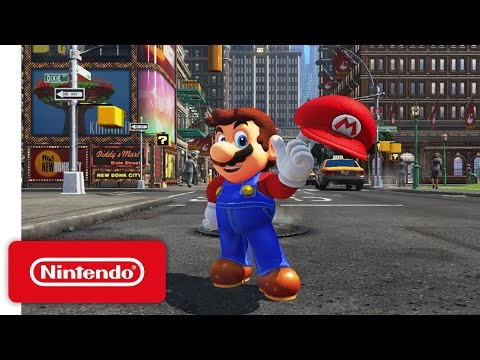 Super Mario Odyssey - Nintendo Switch Presentation 2017 Trailer thumbnail