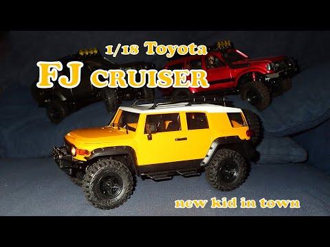 FMS Toyota FJ Cruiser 1/18: A winner!
