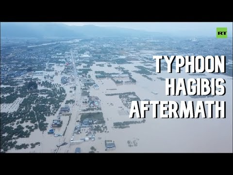 Japan flooded after Typhoon Hagibis hits