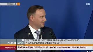 Parodia prezydentury. Poniżenie Polski, jej ośmieszenie…