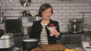 Рецепт йогурта в мультишефе BORK U800 от Елены Чекаловой