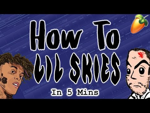 From Scratch: A Lil Skies Song In 5 Minutes | FL Studio Trap