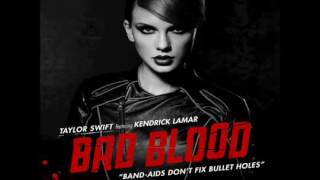Taylor Swift Ft Kendrick Lamar   Bad Blood (Instrumental)