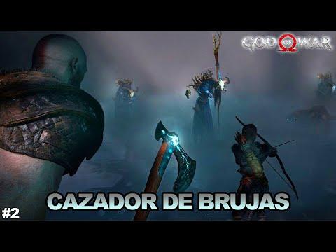 BRUJAS POR TODOS LADOS | God Of War 4 | Esteban Gonzalez