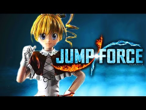 JUMP FORCE Biscuit Krueger JANKY INFINITE COMBO! (Unfinished Character)