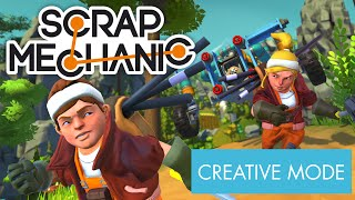 Picture of a game: Scrap Mechanic