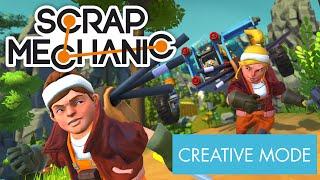 Scrap Mechanic - Creative Mode Trailer