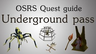 [OSRS] Underground pass quest guide
