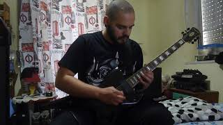 Anthrax - Across The River/Howling Furies (guitar cover by Teo Paradisis)
