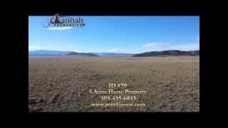 (#79) 5 Acre Mountain Lot for Sale | Park County | Hartsel, Colorado