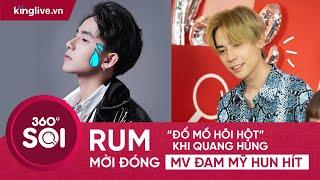 """RUM """"ĐỔ MỒ HÔI HỘT"""" KHI QUANG HÙNG MỜI ĐÓNG MV ĐAM MỸ HUN HÍT"""