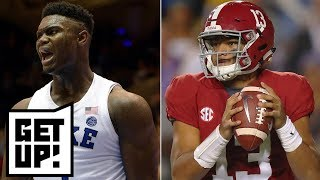 Would Alabama beat the Bills? Would Duke beat the Cavaliers? | Get Up!