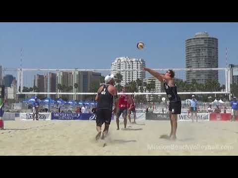 2016 ASICS WSOBV Long Beach Binstock & Schachter CAN Vs  Dollinger & Schumann GER