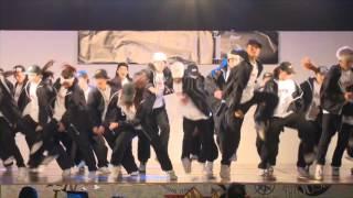 dance crew es 三田祭2015 M-8 Hiphop「3 message」
