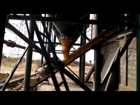 Screw Conveyor with Hopper