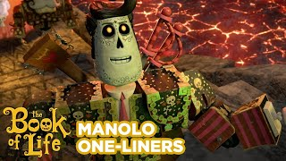 Book Of Life | Manolo's One-Liners | Fox Family Entertainment