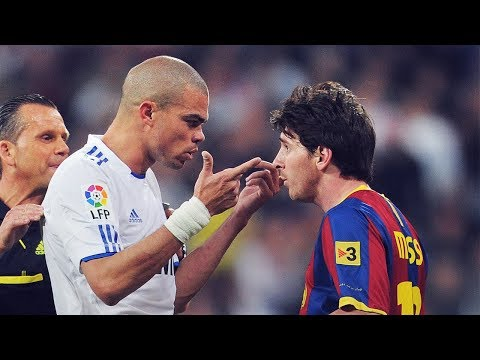Messi's BRILLIANT words for Pepe after he provoked him in a Clásico | Oh My Goal
